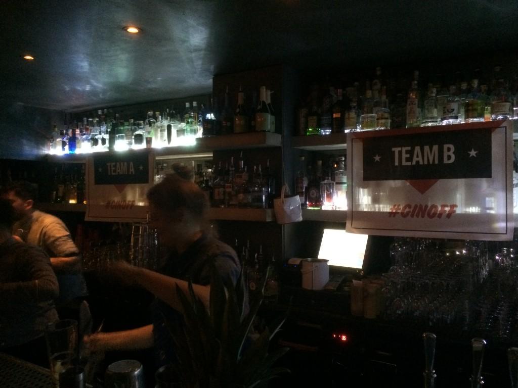 Gin bar soho