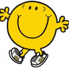 Lifestyle Image ONE. Mr. Happy with feet