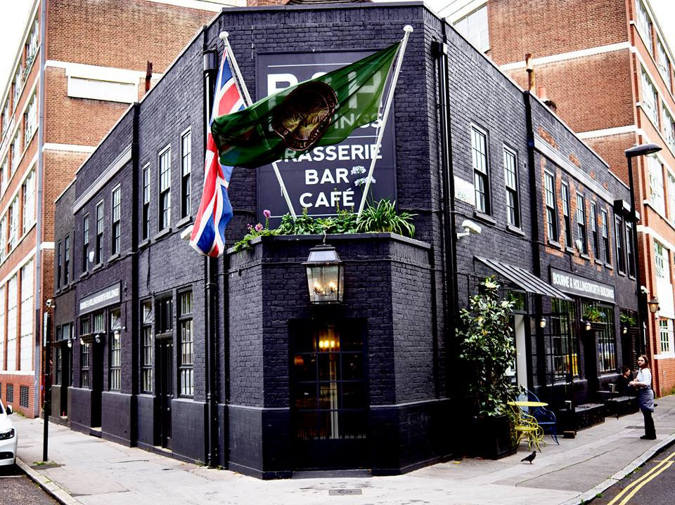The Entrances Of London's Most Attractive Restaurants