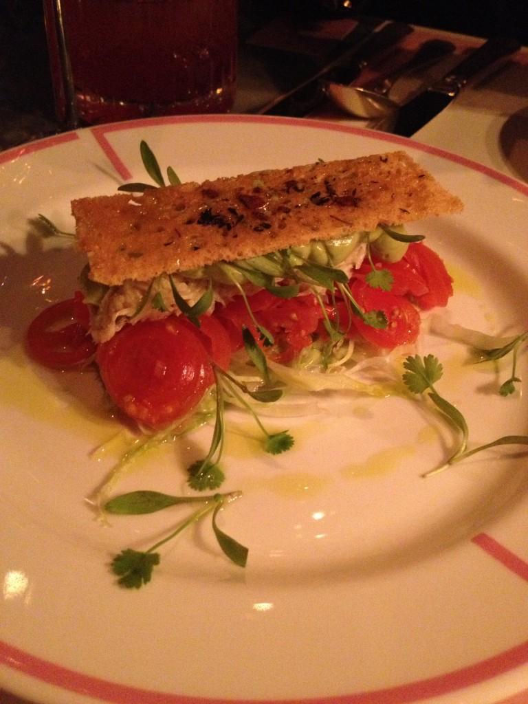 Avocado & Crab Salad