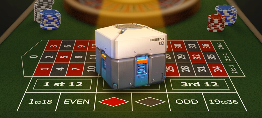 Could loot boxes be considered gambling?