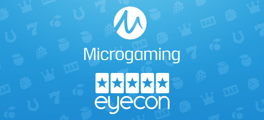 Eyecon and Microgaming team up