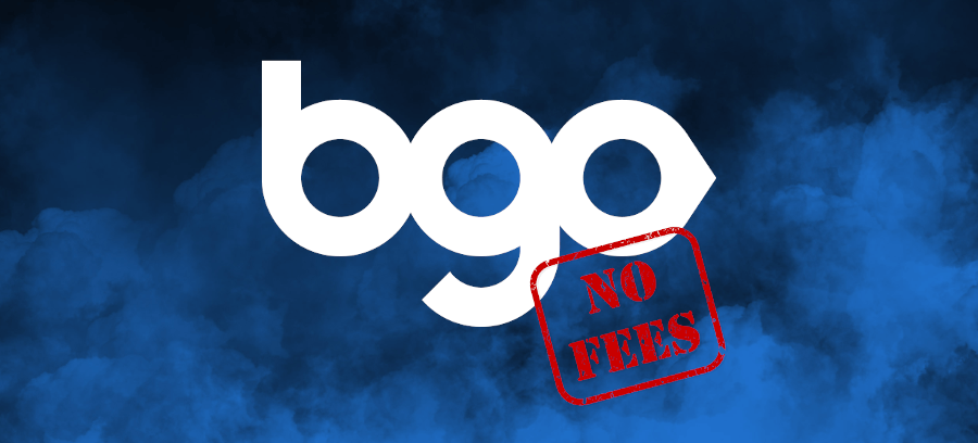 BGO casino removes all fees