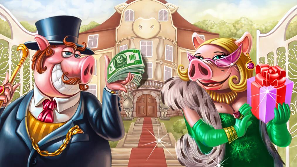 Piggy Riches Graphic