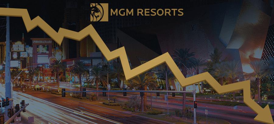 MGM revenue decline