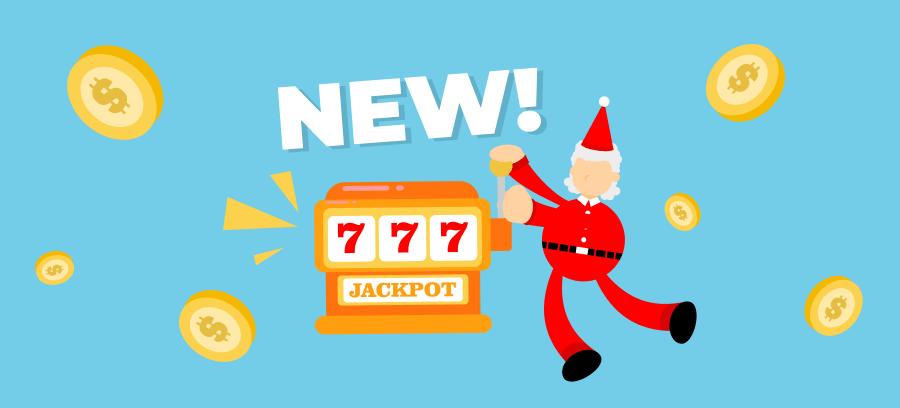 5 New Slot Games December