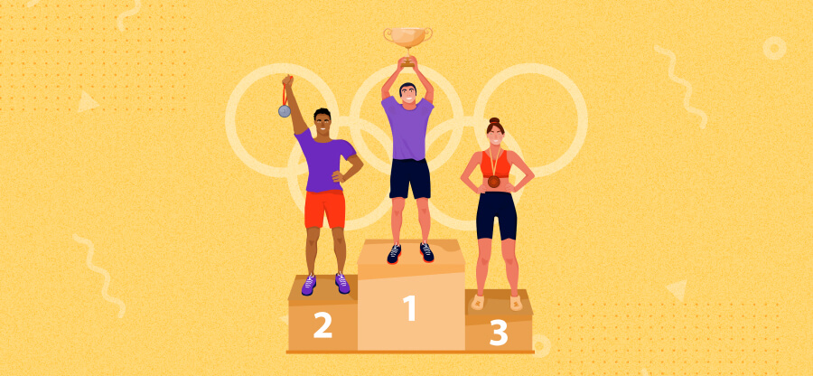 Olympic Gold Rush sweepstakes