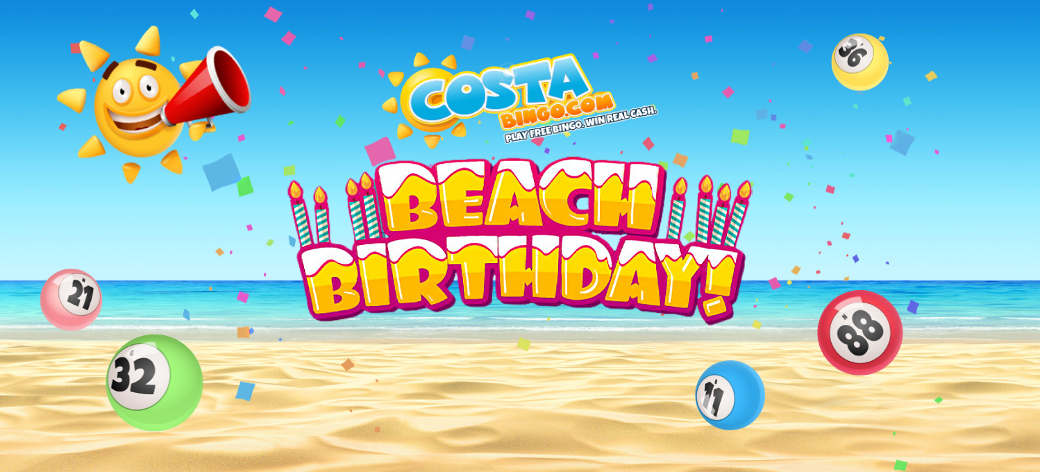 celebrate costa bingo's birthday in style