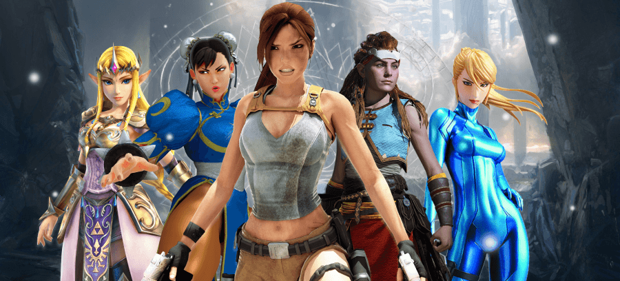 Female led video games are on the rise in 2021