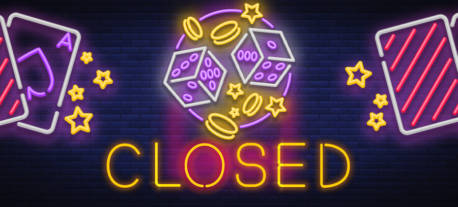 casinos close, ask for financial aid
