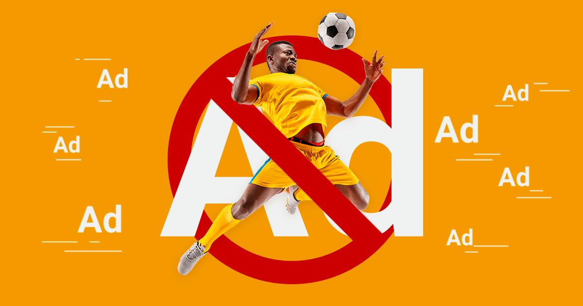 football ad ban