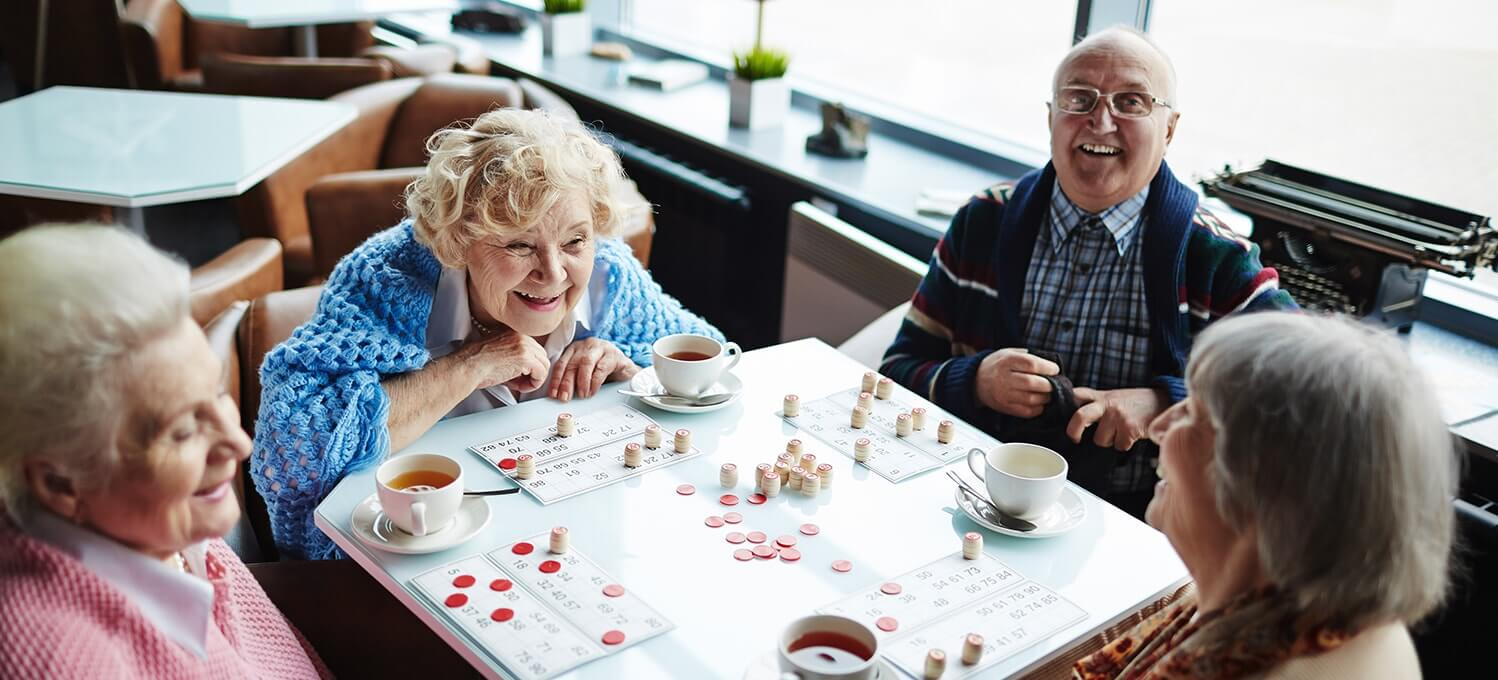 bingo helps elderly