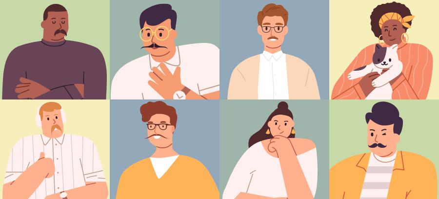Movember virtual mo bingo game
