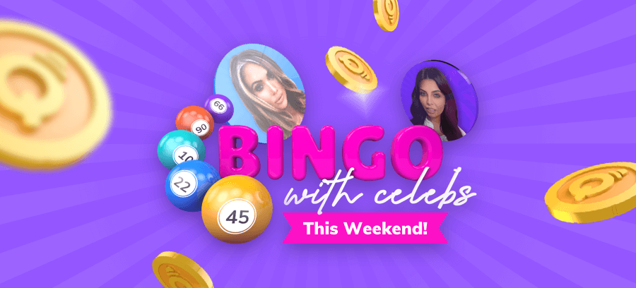 MrQ celebrity bingo weekend
