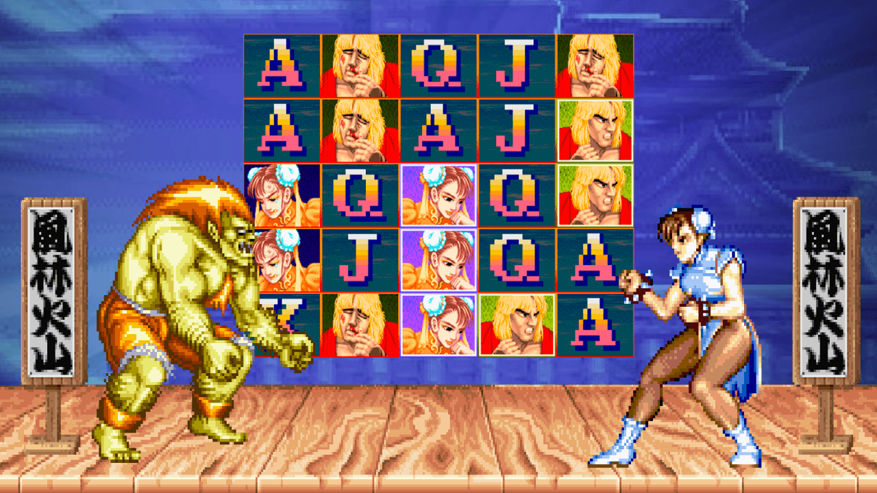 Street Fighter II Graphic