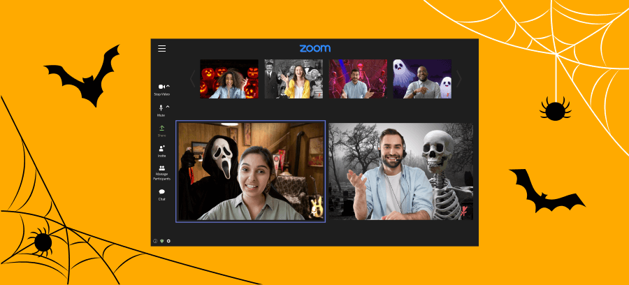 Free downloadable Halloween zoom backgrounds