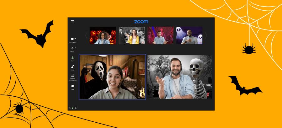 Free downloadable Halloween zoom backgrounds