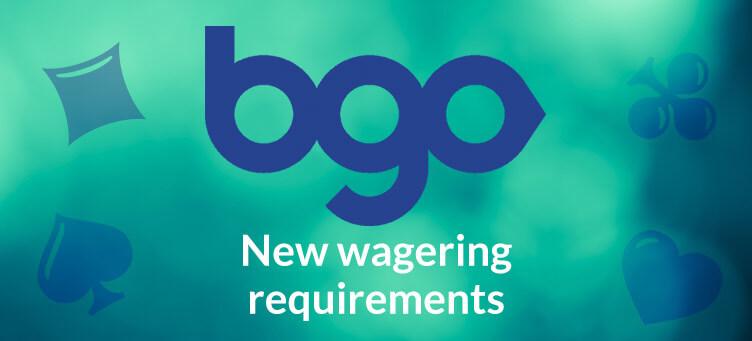 bgo new wagering