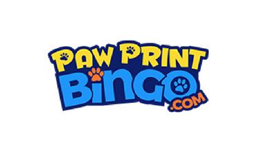 Paw Print Bingo logo