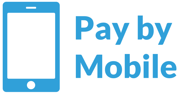 Pay by mobile logo