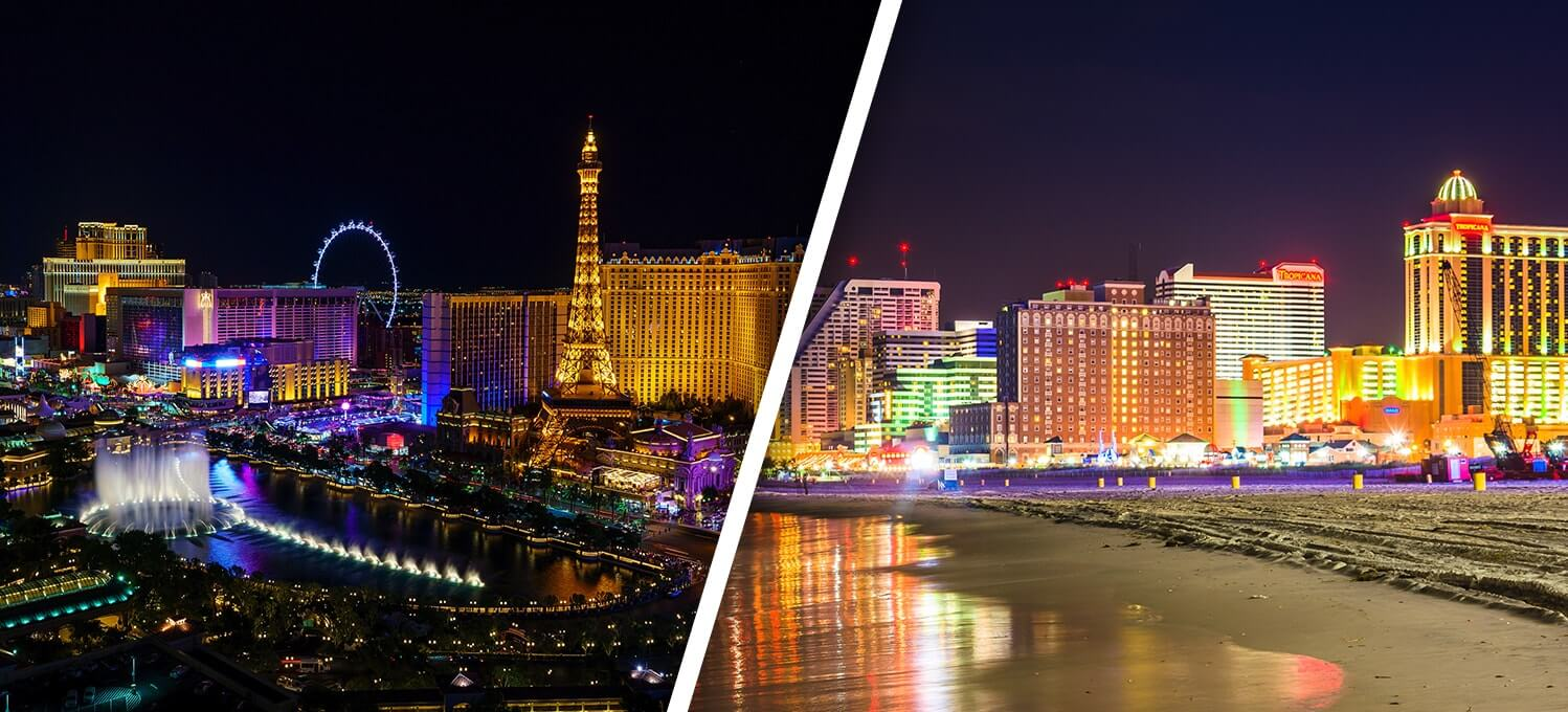 las vegas vs atlantic city