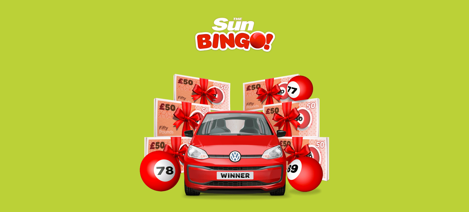 win a car a day with sun bingo