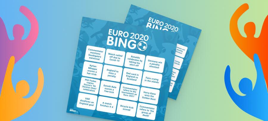 Euro 2020 Bingo