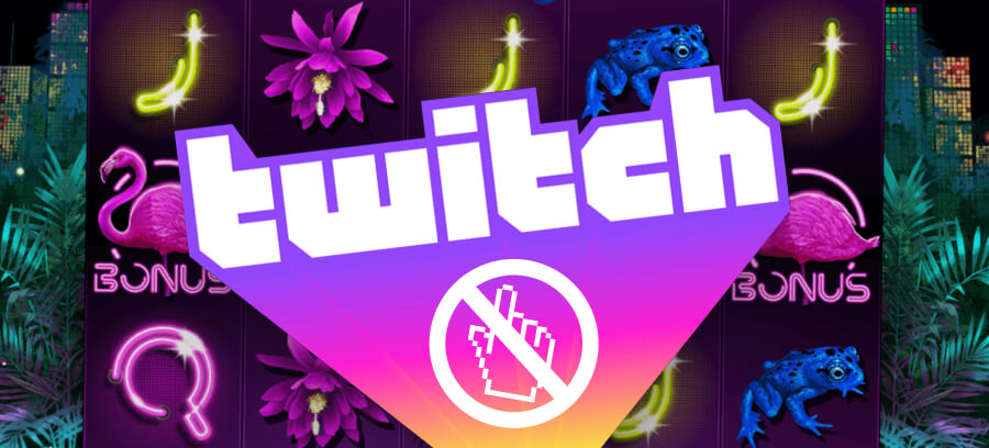Twitch bans casino links