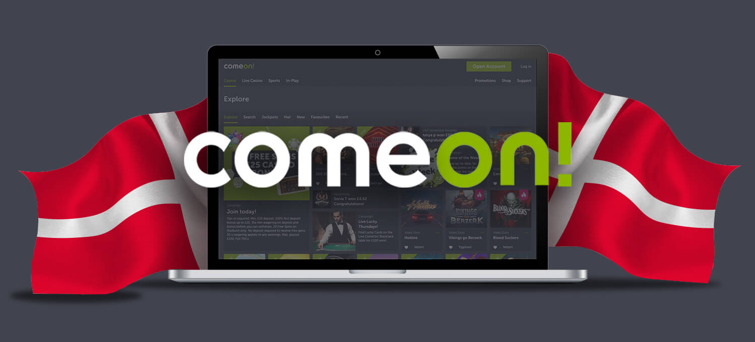 comeon gains sportsbook and casino licences in denmark