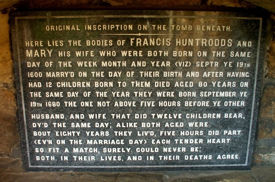 Huntrodds Memorial Whitby Church