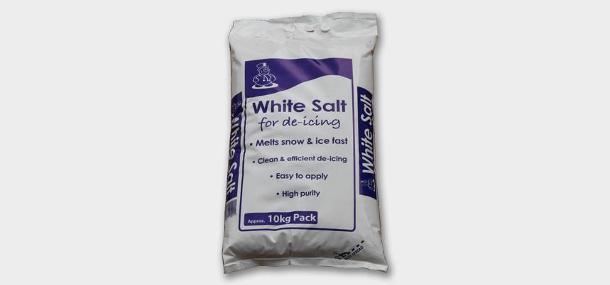Complimentary De Icing Salt