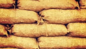 Sandbags Used On Holywood Film War Horse Tn