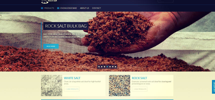 Online Rocksalt Launch New Website
