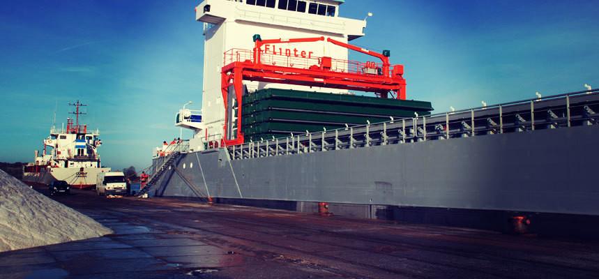 Shipment Reaches Port