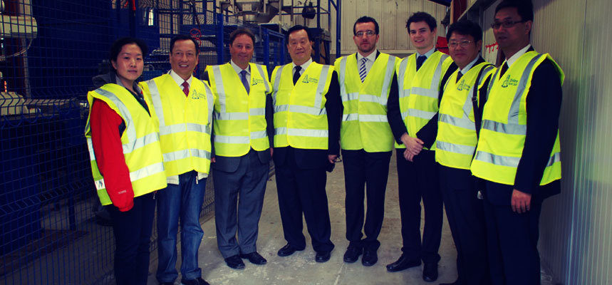 China Salt Federation Visit
