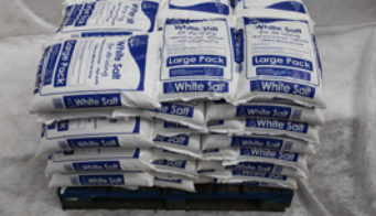 Pallet Of 42 White Salt Large Packs Shot 2