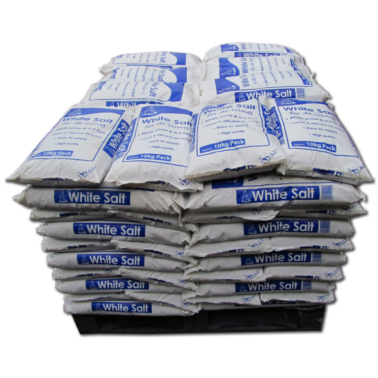 White Salt 10 Full Pallet