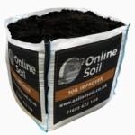 Soil Improver Bulk Bag With Logo