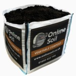 Vegetable Compost Bulk Bag With Logo