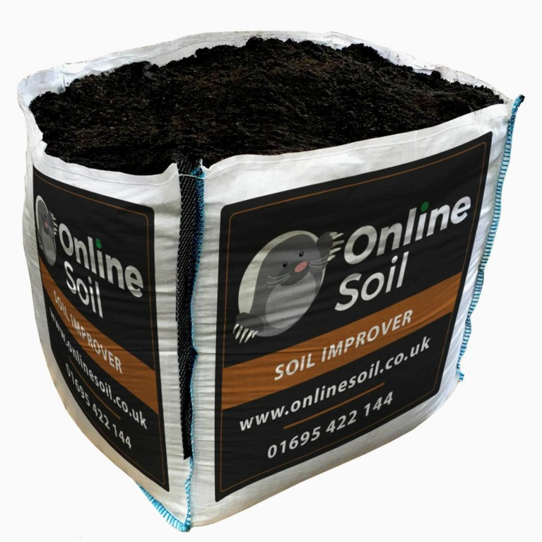 Soil Improver Bulk Bag With Logo