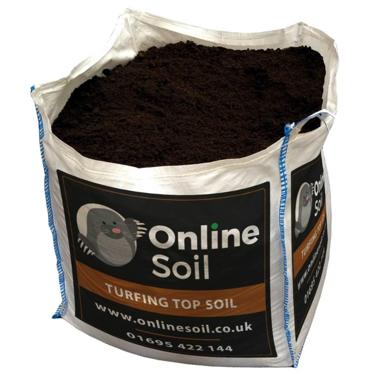 Turfing Topsoil With Logo
