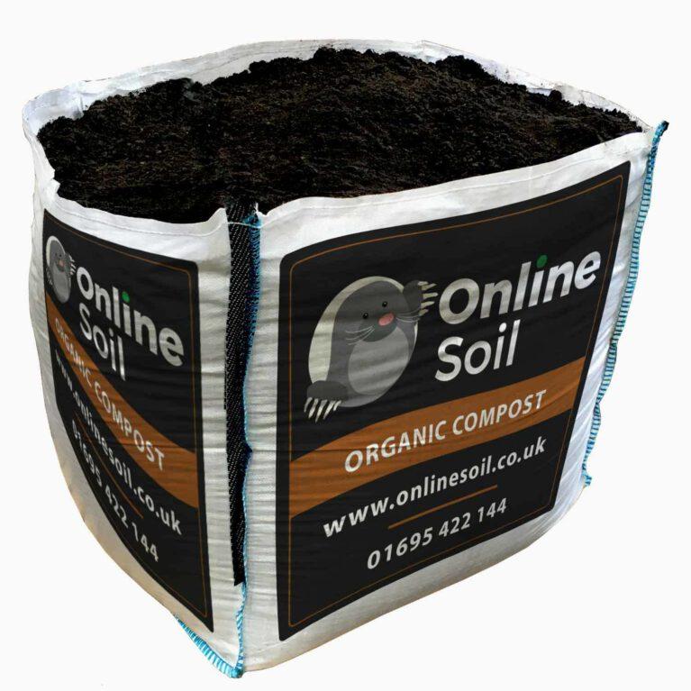 Compost Bulk Bag With Soil Logo