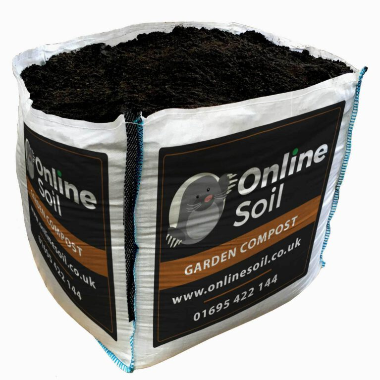 Garden Compost Bulk Bag With Logo