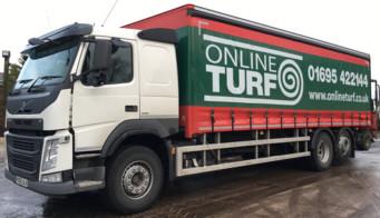 Online Turf Lorry