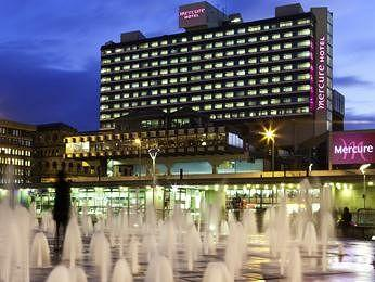 Exterior - Mercure Manchester Piccadilly Hotel