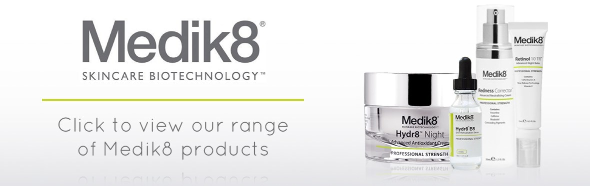 Click to view our Medik8 range