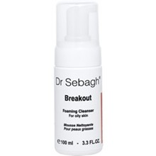 Dr Sebagh Breakout Foaming Cleanser - 100ml | Mousse Nettoyante peaux grasse