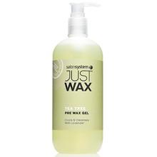 SalonSystem Just Wax Tea Tree Pre Wax Cleansing Gel - 500ml