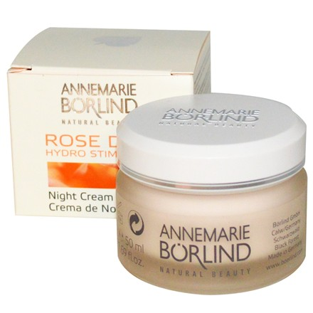 AnneMarie Borlind Rose Dew Night Cream - 50ml