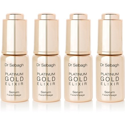 Dr Sebagh Platinum Gold Elixir- 10ml X 4